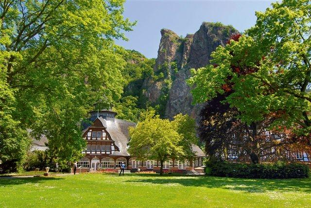 Kurmittelhaus im Kurpark / Sehenswertes / Entdecken ...